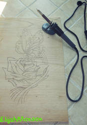 DSCN0463 - First time with #Pyrography