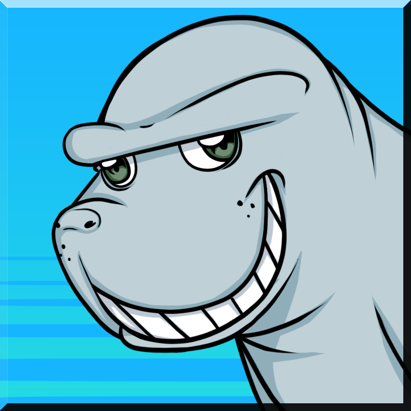 Manatee Icon By Art47 by razaec on DeviantArt