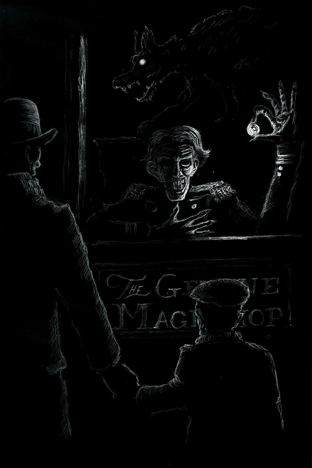 H G Wells The Magic Shop By Mgkellermeyer On Deviantart