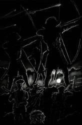 Arthur Machen's The Bowmen by mgkellermeyer