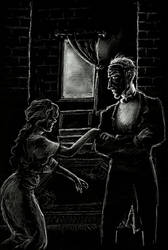 Phantom of the Opera- Christine begs for Raoul