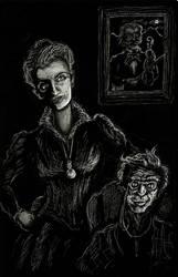 Phantom of the Opera- Christine and Mme. Valerius