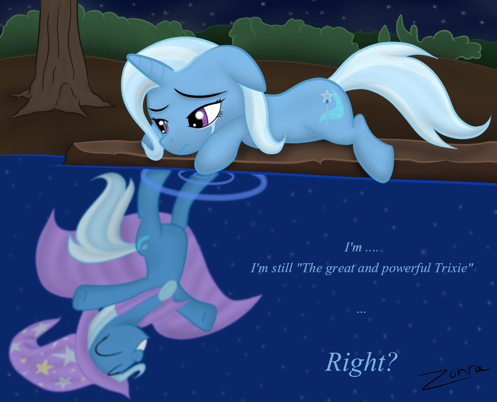 Trixie: A lost reflection by Zonra