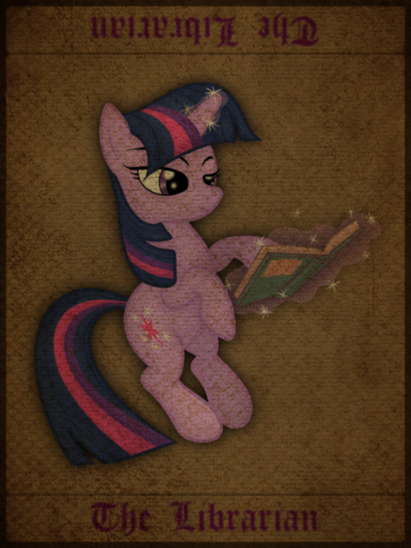 The Librarian by Zonra