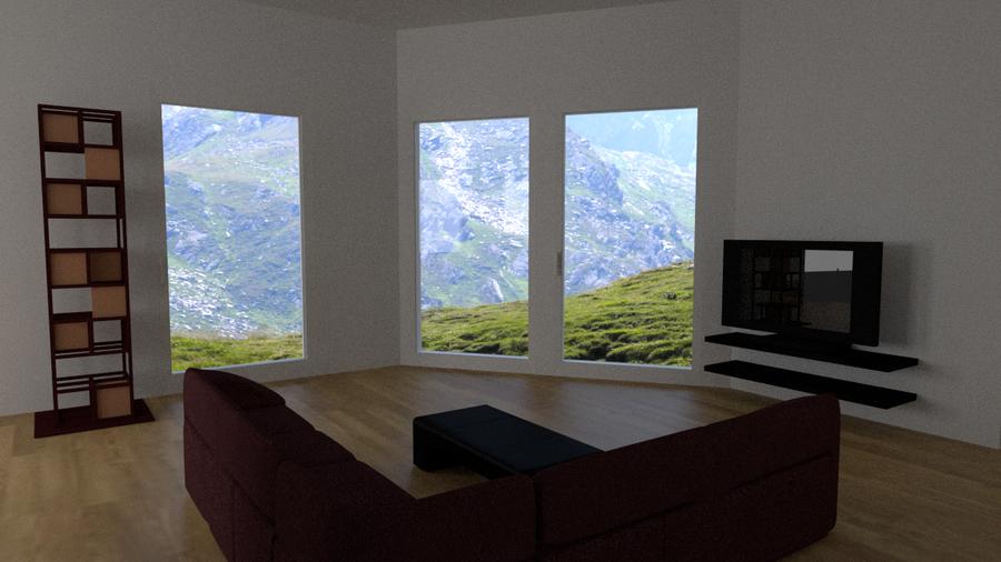 Living room by kulukma