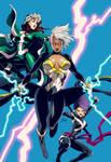 X-men Girls Color