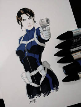 Maria Hill - Agents of S.H.I.E.L.D.