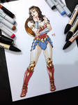 Wonder Woman fullbody 2019 Color by Magnafires