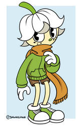 [Toon] Liam Lily by SkullxCake
