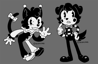 [Toon] Clown and Mime
