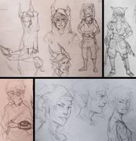 Trik | Character development by Porokelle