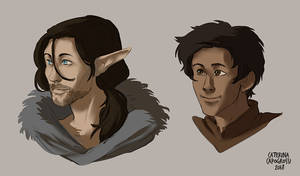 Adkass and Din (portraits)