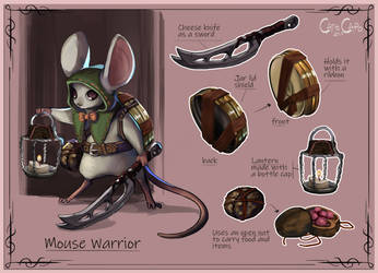 Warrior Mouse Layout Eqip by Porokelle