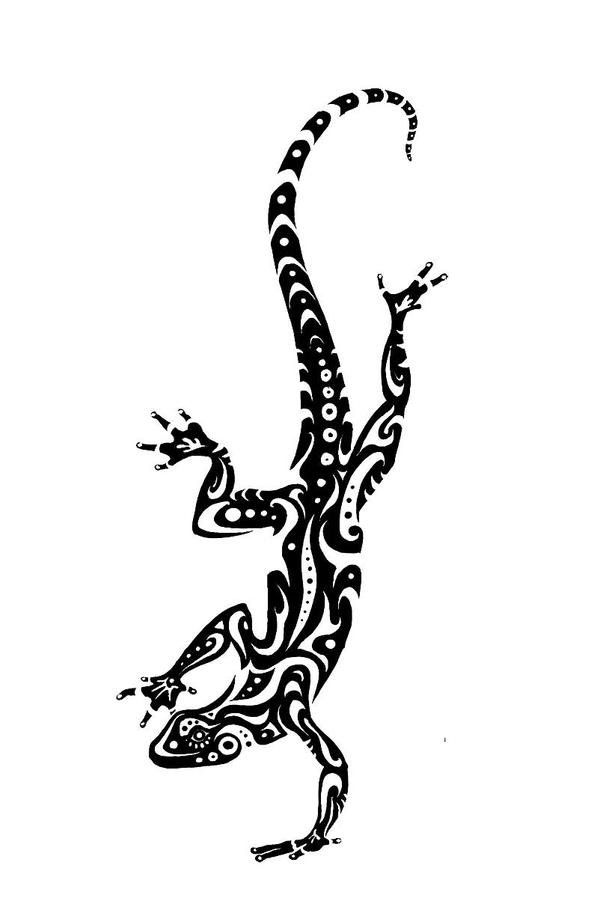 lizard tattoo design pt 2 by tsairi on deviantart. Black Bedroom Furniture Sets. Home Design Ideas
