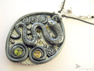Pendant Whip snake by airy-cat