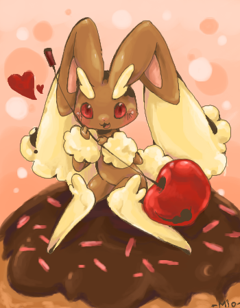 Cupcake bunny by Mi-eau