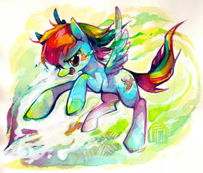 Rainbowing by Mi-eau