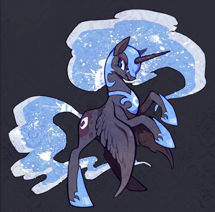 NightMare Moon by Mi-eau
