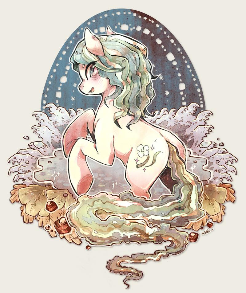 Commission : Crystal Flower by Mi-eau