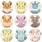 Eevees - Buttons
