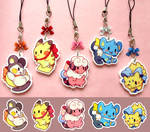 Pokemon Cell-phone Charms