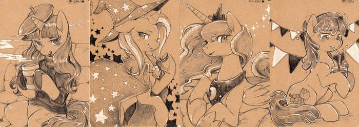 Com. Examples - Pencil and white 1 by Mi-eau