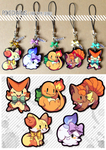 Pokecharms - Fire type