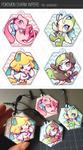 Pokemon Charm Wipers by Mi-eau
