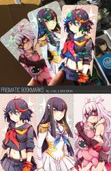 Prismatic bookmark series 1 by Mi-eau