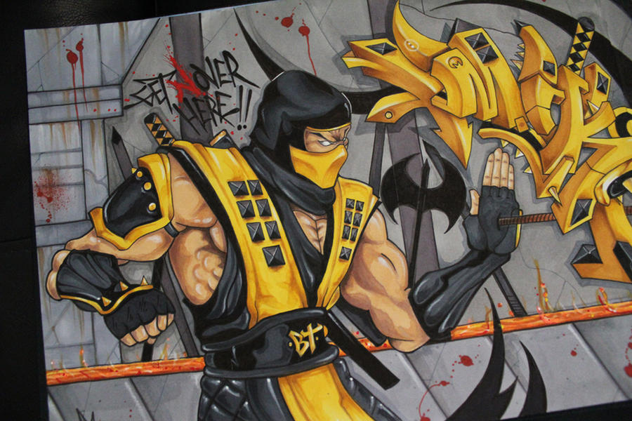 scorpion (nover GWB) by NoverGWB