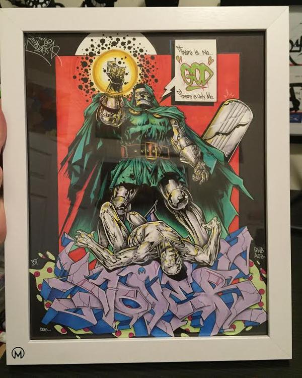 DR. Doom vs Silver Surfer - NOVER GWB by NoverGWB