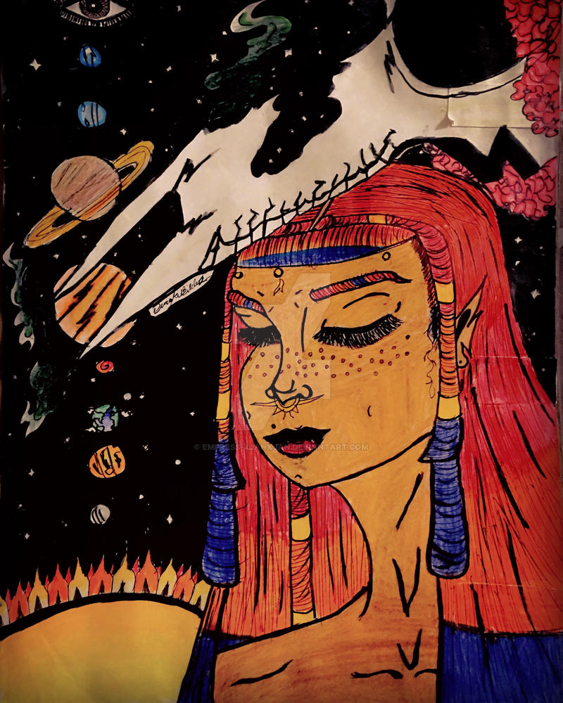 She was given to the Universe in color by Empress-XjanXjan