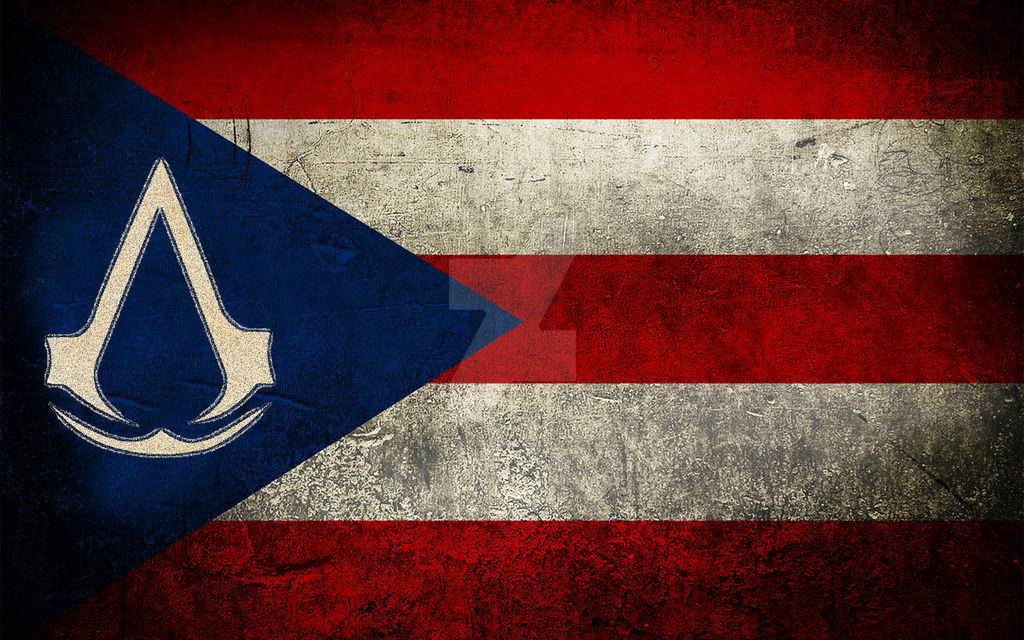 Assassins Creed Flag Puerto Rico By Metalstormkid On Deviantart