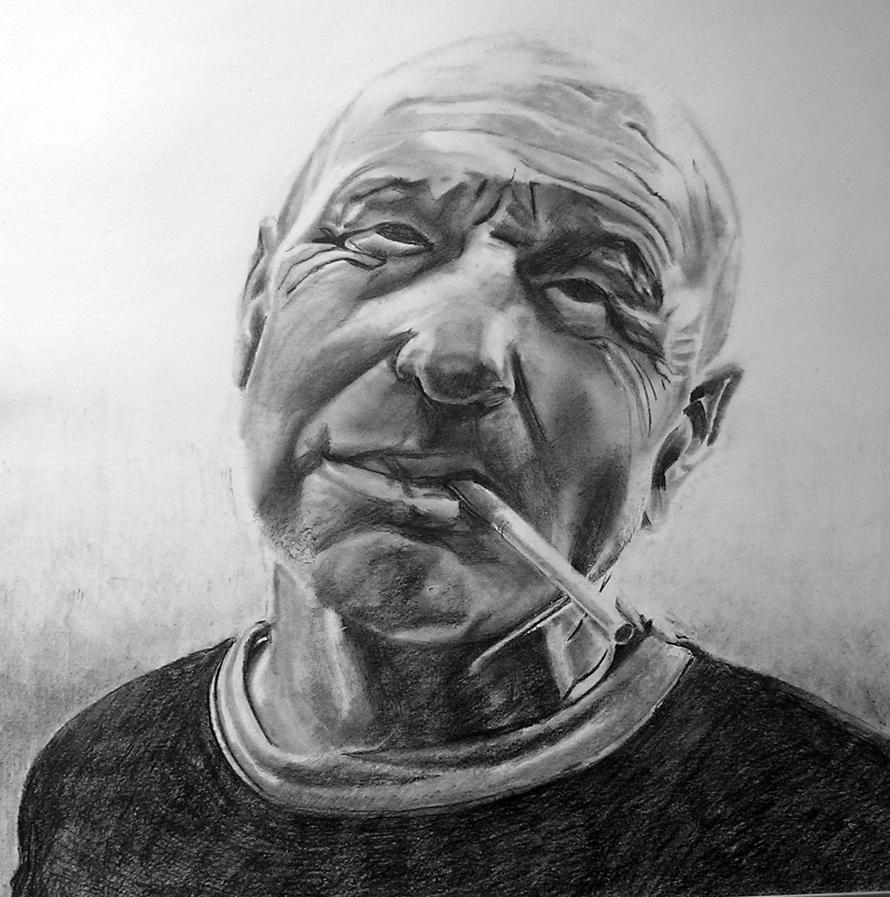 Saxy Col portrait. by Bicnarok