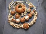 Series jewelry nuts-chocolate