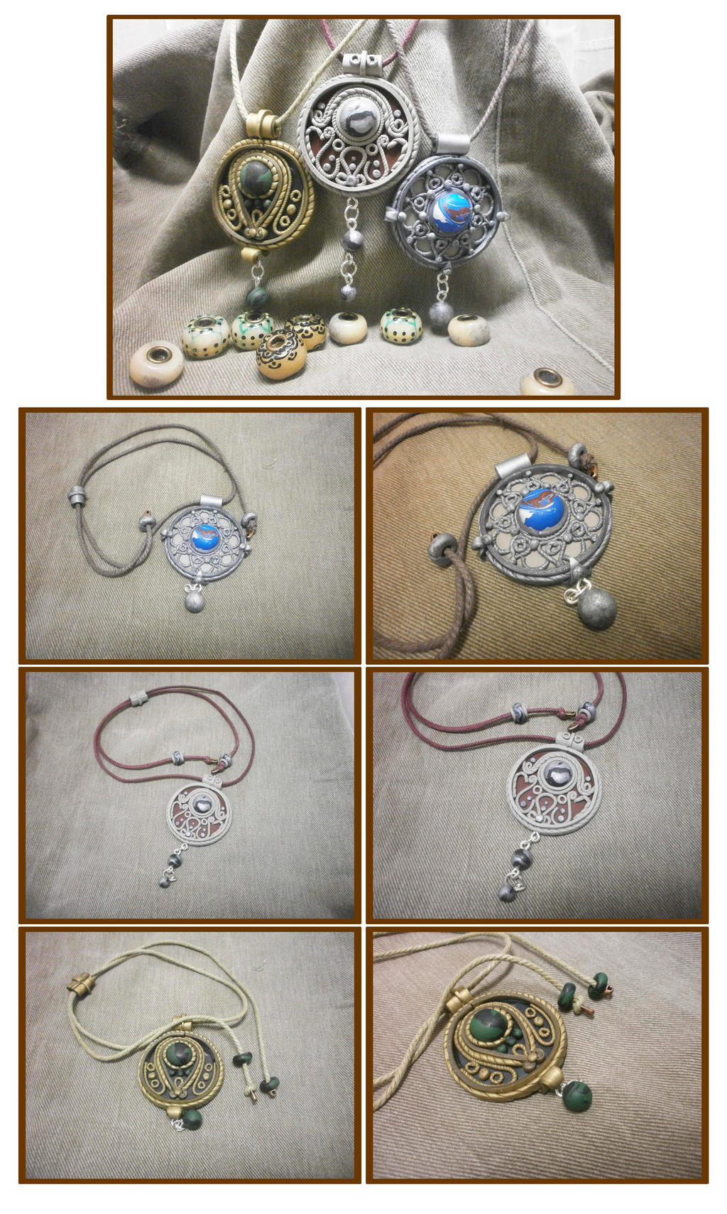 pendants by Comics-kinder
