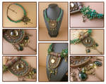 Pendant necklace Keeper of the forest