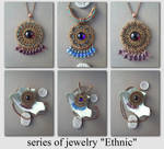 series of jewelry Ethnic