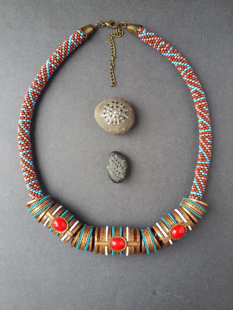 Ethnic jewelery by Comics-kinder