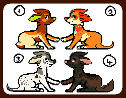 Dog Point Adoptables by Redrie