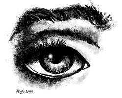 ms paint eye by Stonekill