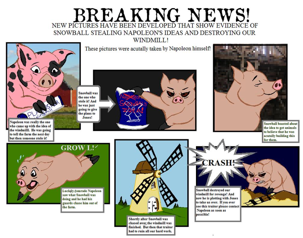 farm windmill drawing. Animal Farm Propaganda Comic By Stonekill On Deviantart Windmill Pencil Drawing
