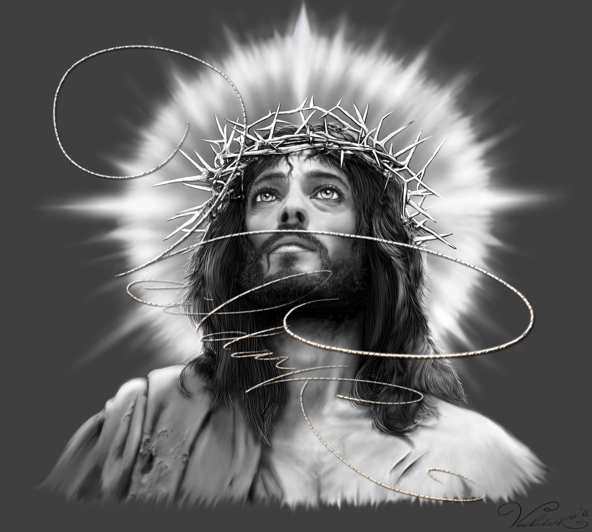 Retrato de jesucristo. by VeildarK