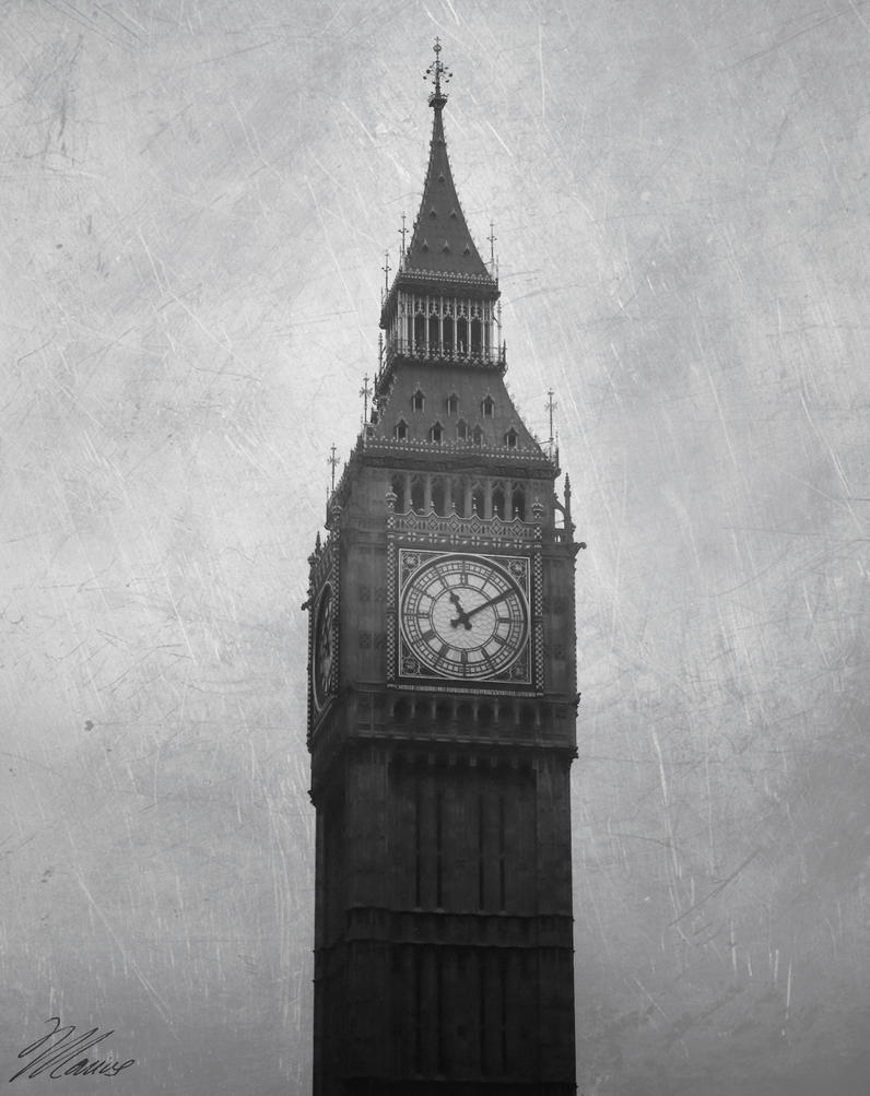 Big Ben by NNarcissus