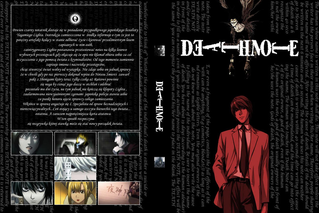 Death Note DVD cover by klepa17 on DeviantArt