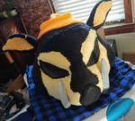 Rager Boar ~ Toony Anthro Mask FOR SALE! by ChilloHaus