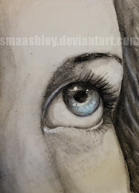 Eye Study by Smaashley