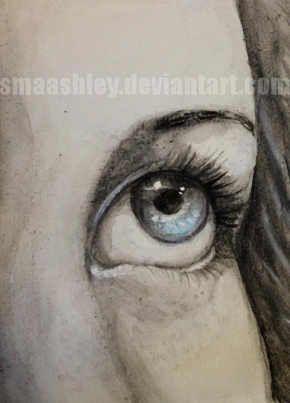 Eye Study by Smaashley