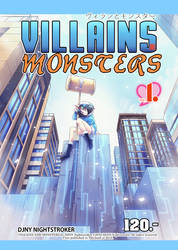 Villains And Monsters 1 Covers 001 by panom