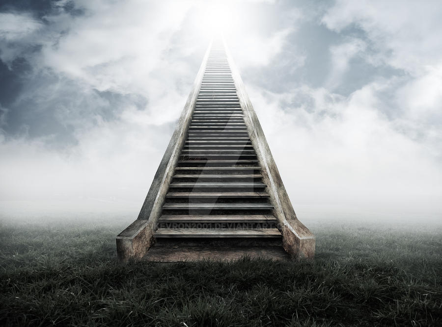 stairway to heaven by z0h3 on deviantart